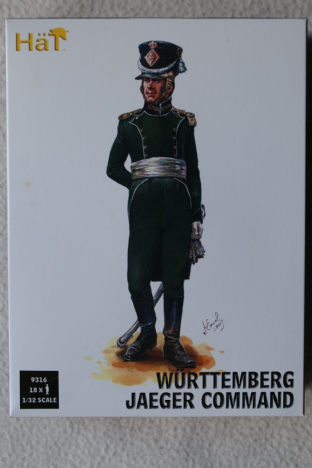 HaT 1/32 HAT9316 Wuttemberg Jaeger Command (Napoleonic)